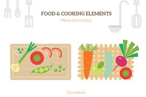 FOOD & COOKING ELEMENTS
