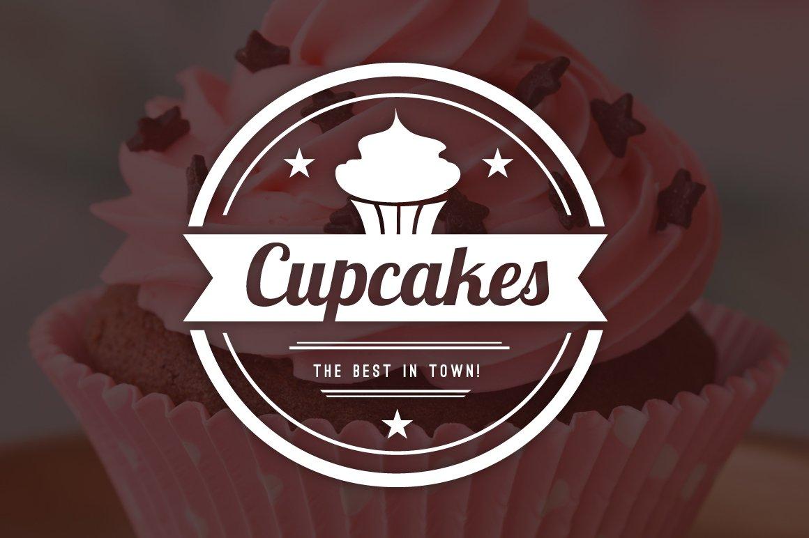 15 Bakery Cupcakes Cakes Logos Logo Templates Creative Market