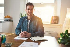 Successful small business entrepreneur