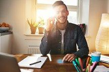 Smiling happy Entrepreneur with a confident smile