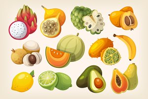 Exotic fruit for healthy eating