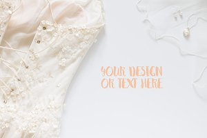 Wedding Dress / Product Mockup