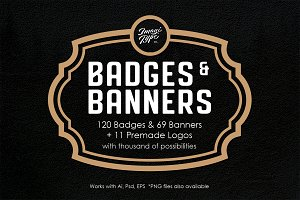 Badges And Banners Kit