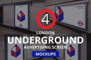 London Underground Screen Mock-Ups