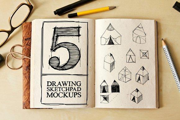 Download Drawing Sketch Pad Mock-ups