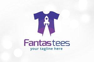 Fantastic Tees Logo Template
