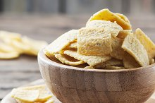 Mexican chips, square image