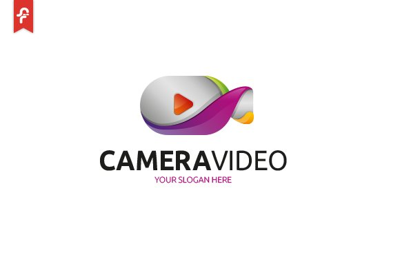 Camera Video Logo in Logo Templates - product preview 1