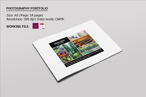 Photographer Portfolio Brochure-V493