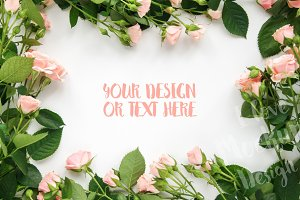 Frame of Roses / Product Mockup