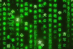 Green symbols of matrix binary code