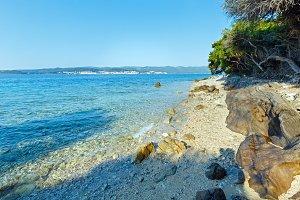 Summer Adriatic Sea coast (Croatia)