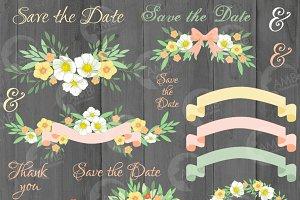 Wedding Clipart, AMB-1311