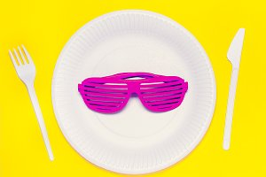 Summer come today Disco glasses