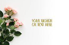 Pink Roses #3 / Product Mockup