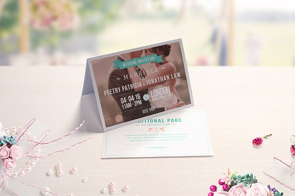 Download Invitation & Greeting Card Mockups