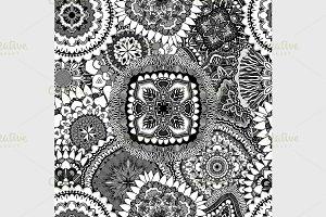 Seamless elegant pattern