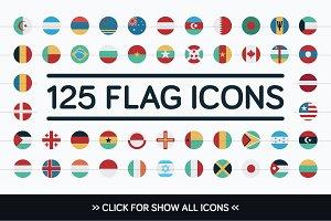 125 Flag Icons