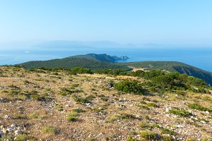 South cape of Lefkas (Greece)