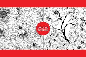 coloring antistress