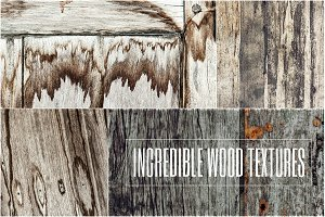 Incredible wood textures