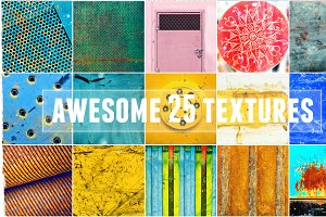 Awesome 25 colorful textures