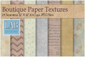 24 Boutique Paper Textures