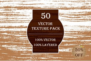 50 Unique Vector textures