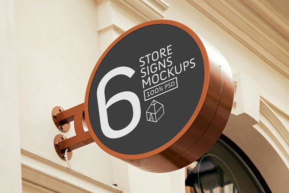 Download Store Signs Mock-Ups