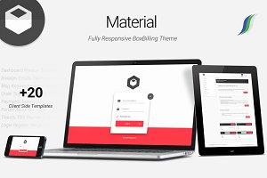Material - Premium BoxBilling Theme