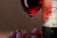 Aged Wine Mock-Up