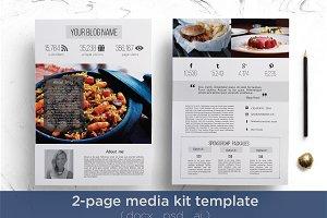 2 page media kit