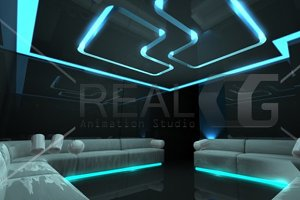 3D Nightclub for any luxury concept