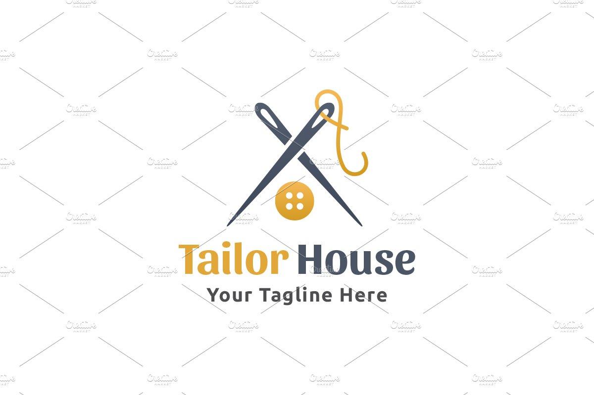 Tailor House Logo ~ Logo Templates ~ Creative Market