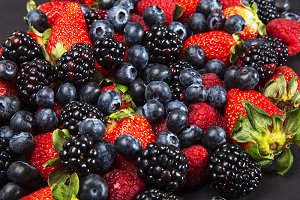 different types of fruit