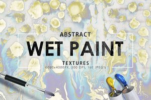 Wet Paint Textures Vol. 1