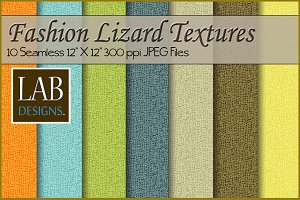 10 Fashion Lizard Skin Textures