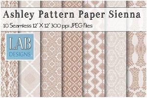 10 Sienna Seamless Pattern Textures