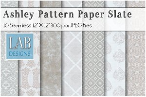 10 Slate Seamless Pattern Textures