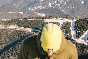 enjoy winter mountains