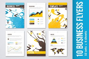 10 Business Flyers Design