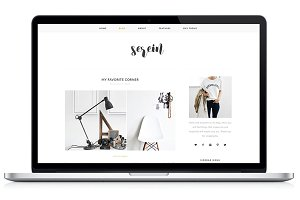 Responsive WP Theme - Serein