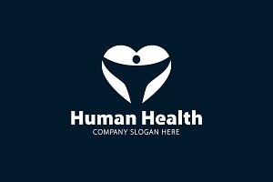 Human Healt Logo Template