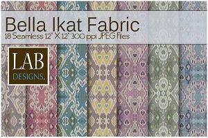 18 Bella Ikat Fabric textures