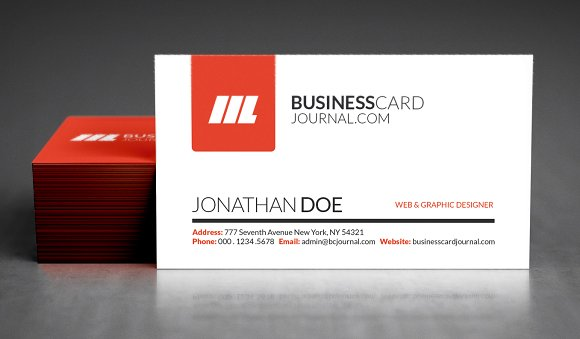 Realistic business card mockup product mockups creative market reheart Image collections