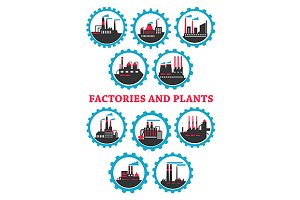Industrial plants and factories