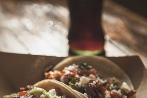 Tacos and Mexican Coke