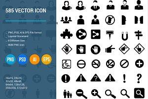 585 Vector Icon