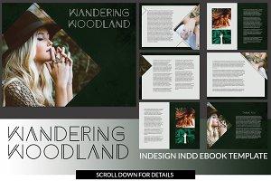 Wandering W. INDD Ebook Template