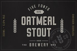 Oatmeal Stout - 5 Styles